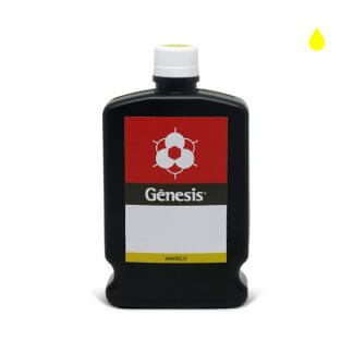 Tinta para Escrita Cartazista Amarelo 500ml - Gênesis