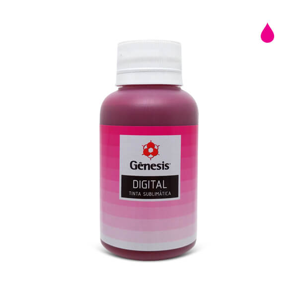 Tinta Sublimática Sublitop Intenso Pink Fluorescente 100ml – Gênesis