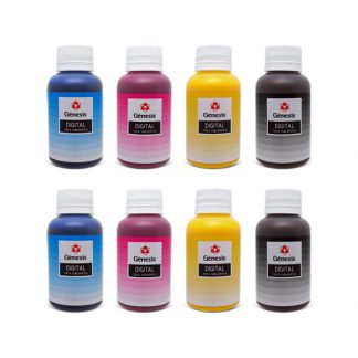 Kit Tinta Sublimática Sublidesk CMYK 8x 100ml - Gênesis